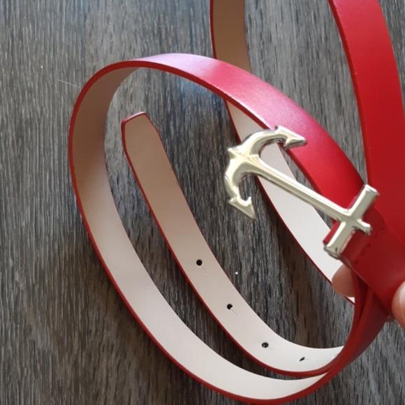 Nautica Accessories - NWOT Nautica red belt